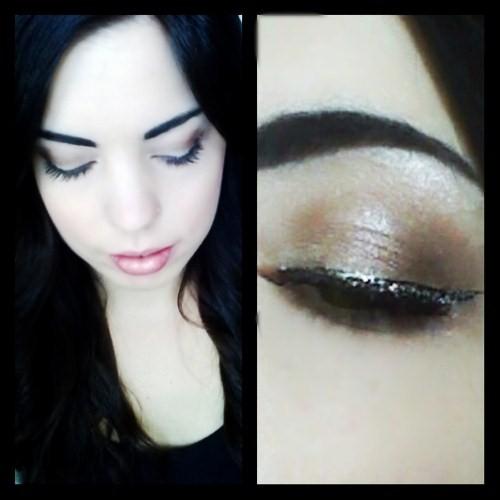 Shimmer make-up